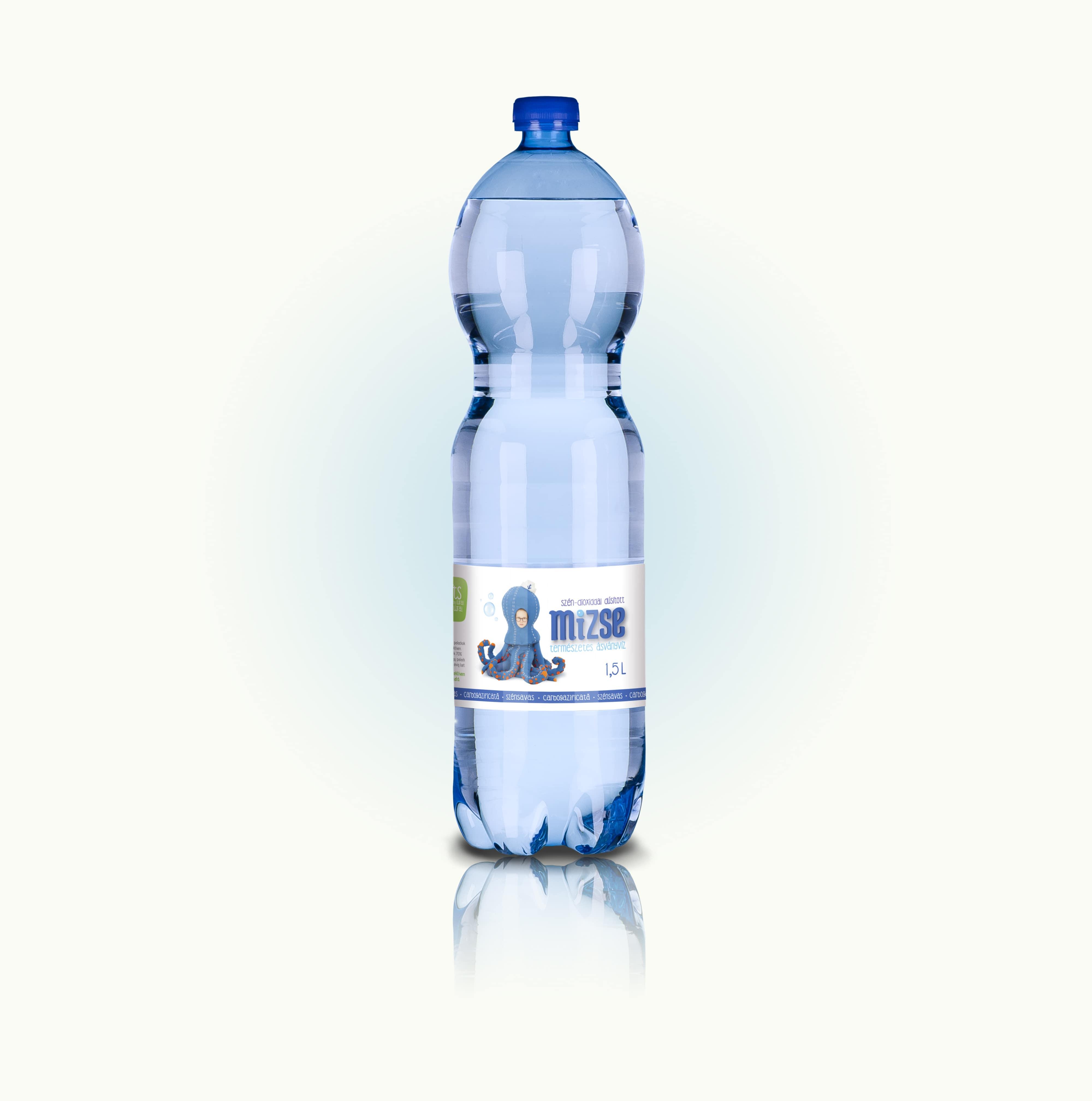 Mizse ásványvíz 1,5 liter Szénsavas